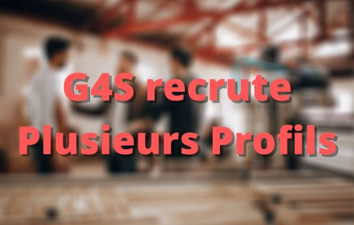 G4S is recruiting several Profiles