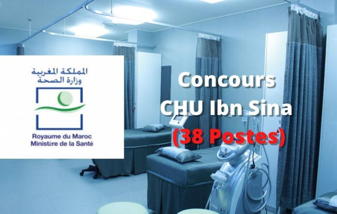 Concours CHU Ibn Sina (38 Postes)